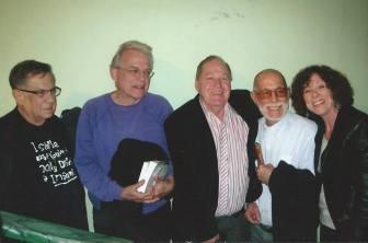 Matias Montes Huidobro, Pedro Monge y Abelardo Estorino ;