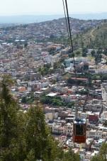 La hermosa ciudad de Zacatecas presentada por uno de sus símbolos: el telesférico. (Foto: Dainerys Machado)